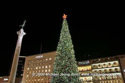 Holidays at Union Square (click here for images)