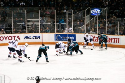 San Jose Sharks vs Edmonton Oilers (click for images)
