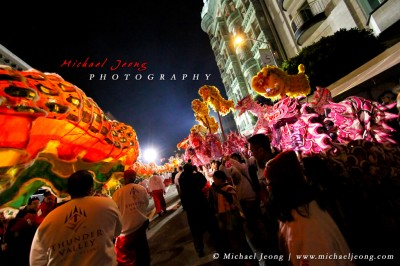 Chinese New Year Parade Finale