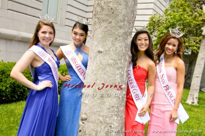 2012's Miss San Francisco, Miss Golden Gate, Miss SF Outstanding Teen, Miss GG Outstanding Teen