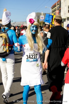 This is the best Smurfette outfit I've ever seen