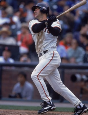 Jeff Kent as a Giant (Image by Jed Jacobsohn/Getty Images)